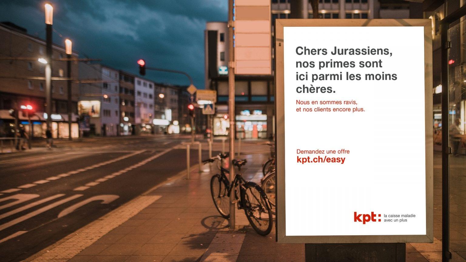 Plakat zur KPT Imagekampagne Kantönligeist
