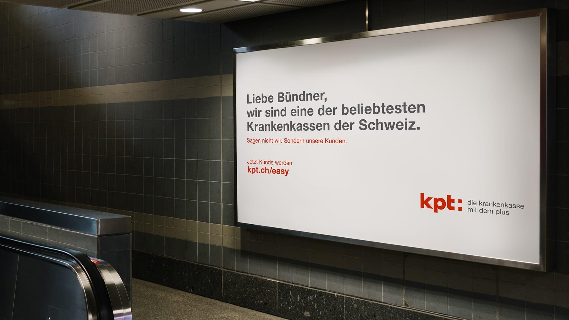 Neue Kampagne für KPT.