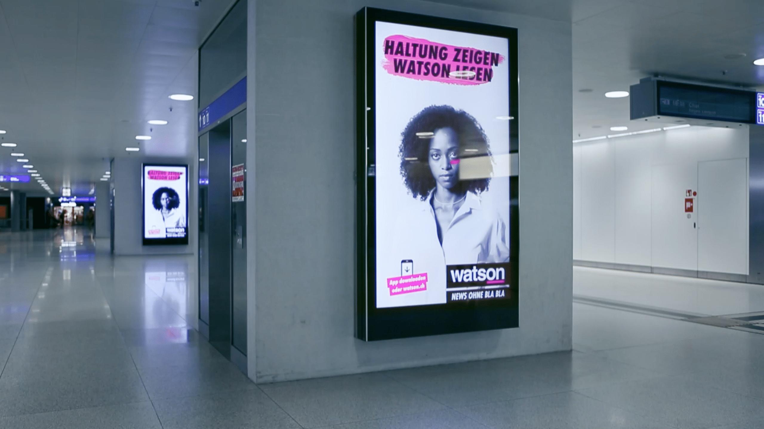 Watson – Haltung zeigen.